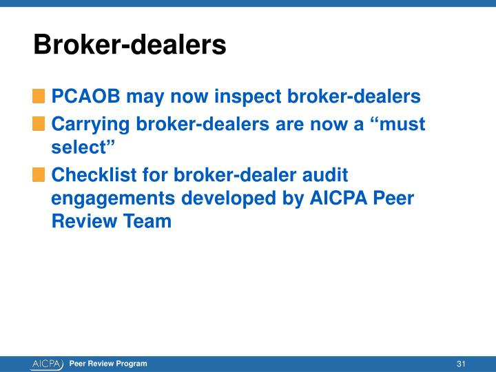 Broker-dealers