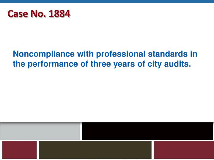 Case No. 1884