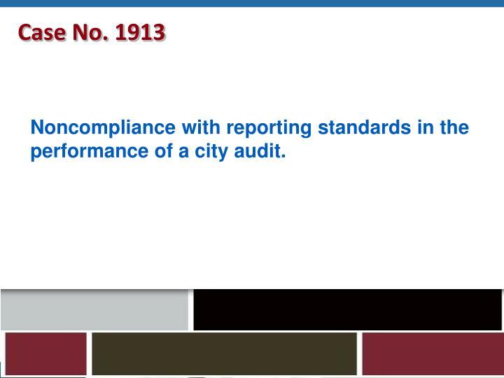 Case No. 1913
