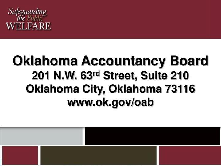 Oklahoma Accountancy Board