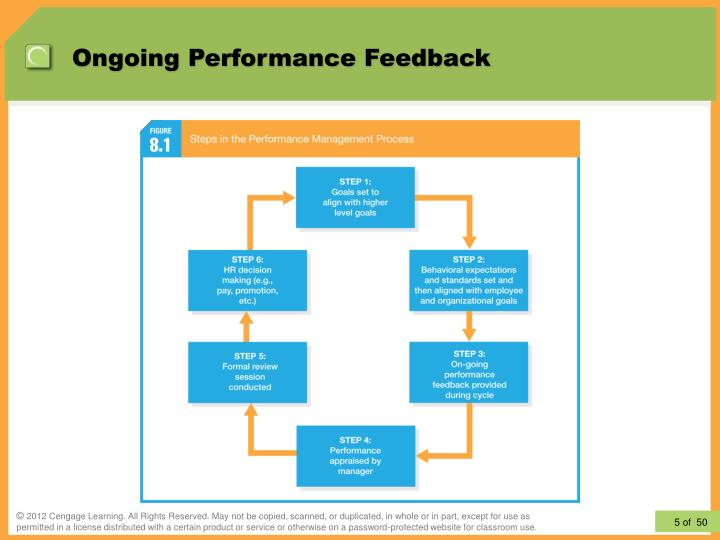Ongoing Performance Feedback