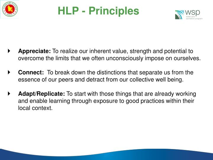 HLP - Principles