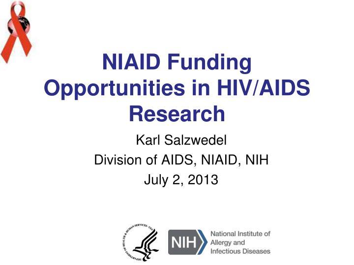 NIAID Funding