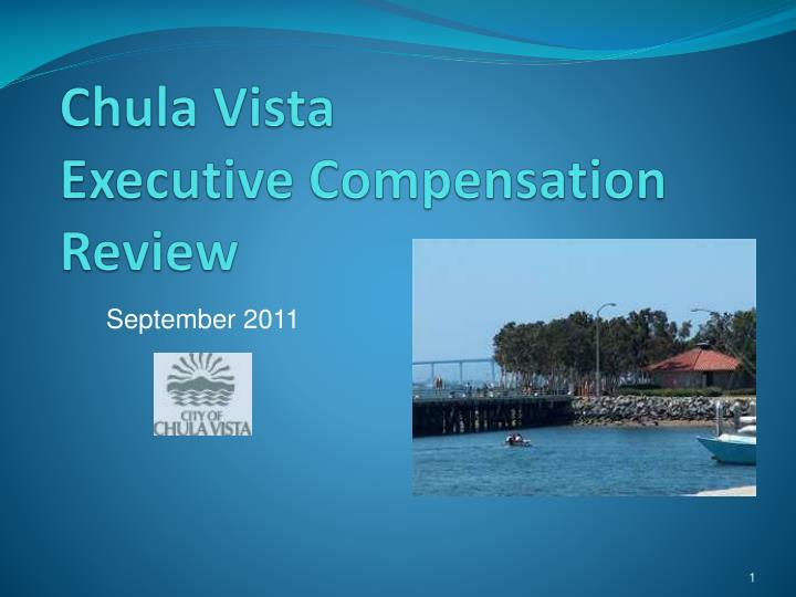 Chula vista executive compensation review