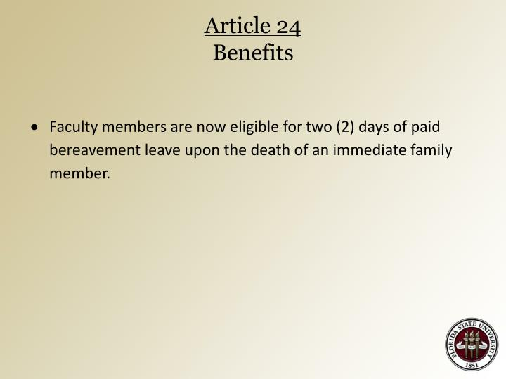 Article 24