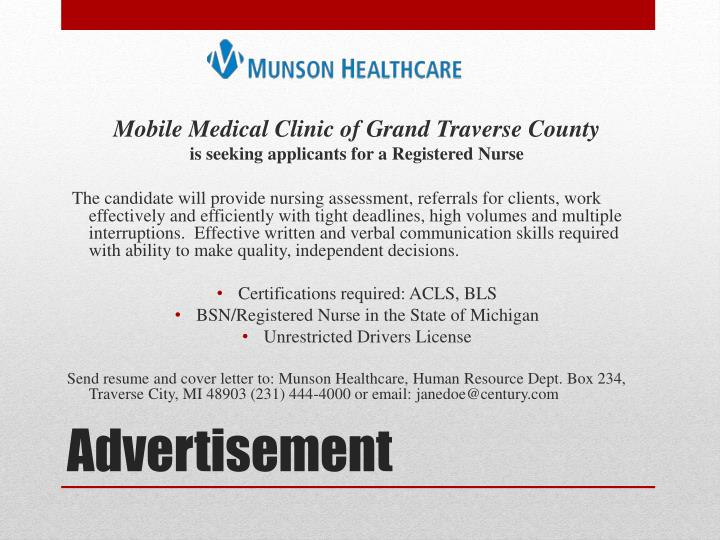Mobile Medical Clinic of Grand Traverse County