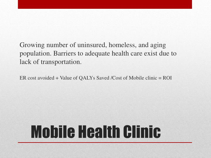 Mobile health clinic1