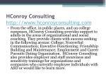 hconroy consulting http www hconroyconsulting com