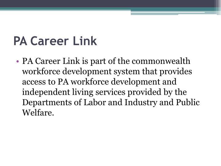 PA Career Link