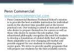 penn commercial www penncommercial com