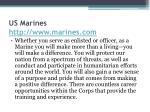 us marines http www marines com