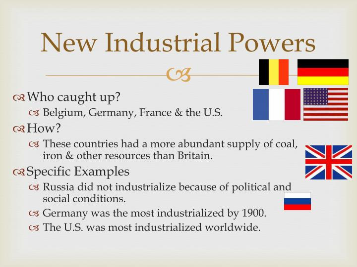 New Industrial Powers