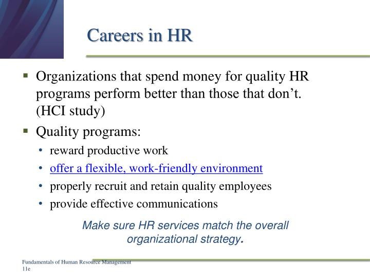 Careers in HR