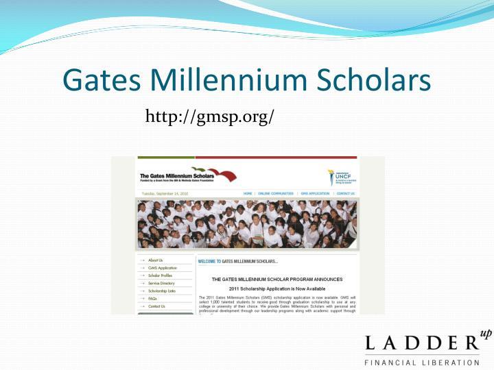 Gates Millennium Scholars