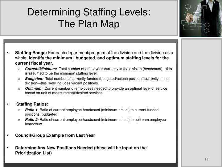 Determining Staffing Levels: