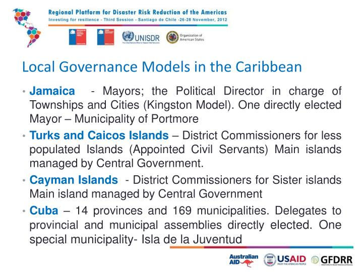Local Governance Models in the Caribbean
