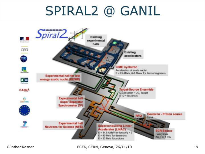 SPIRAL2 @ GANIL