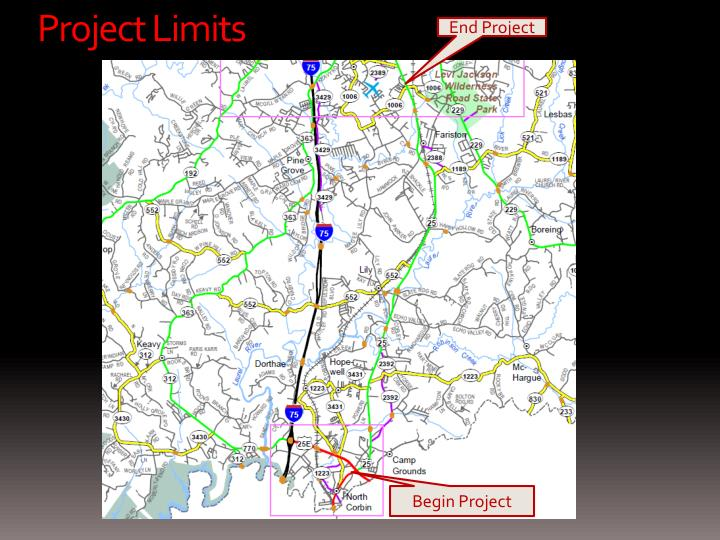 Project Limits