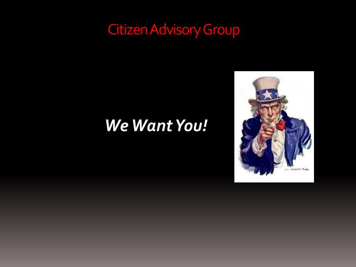 Citizen Advisory Group