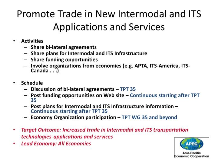 Promote Trade in N