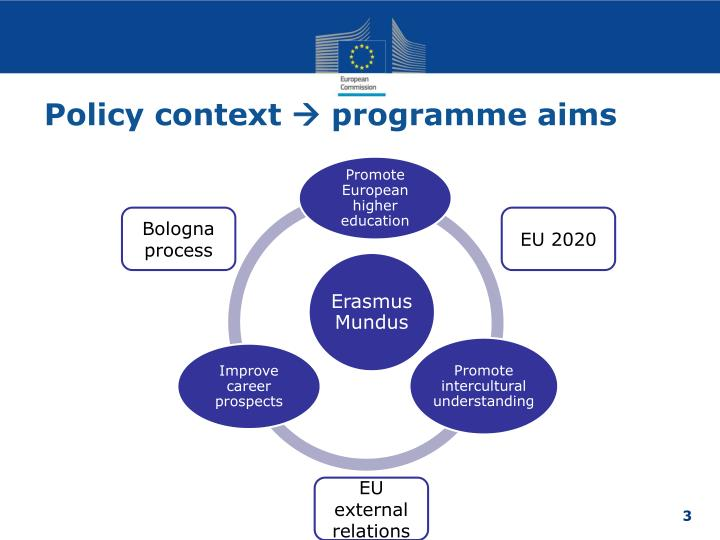 Policy context programme aims