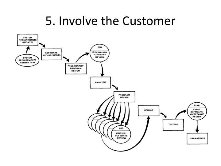 5. Involve the Customer