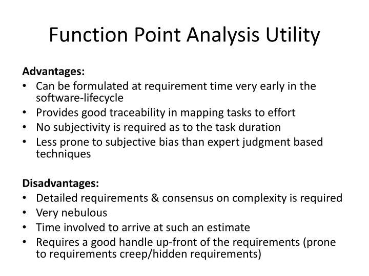 Function Point Analysis Utility
