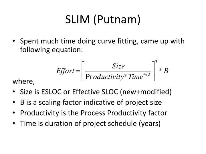 SLIM (Putnam)