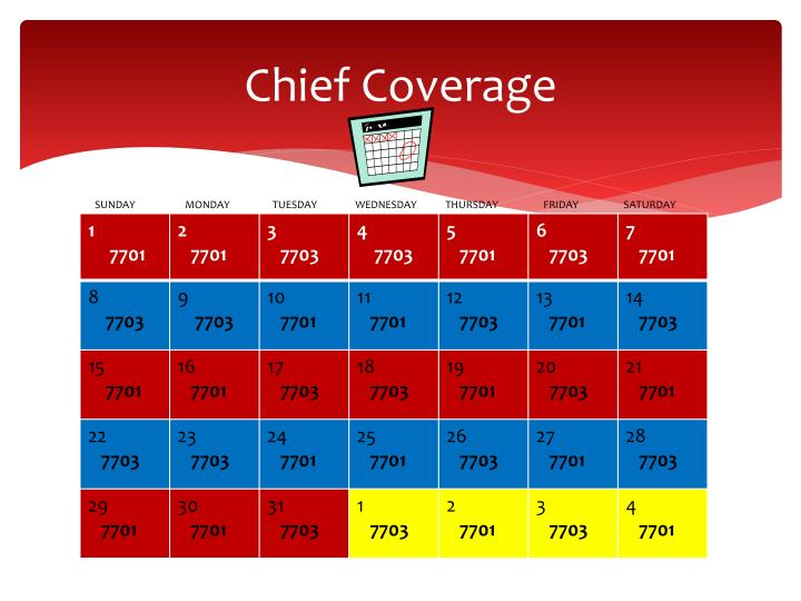 Chief Coverage