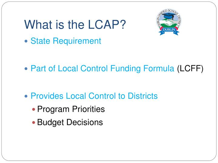 What is the lcap