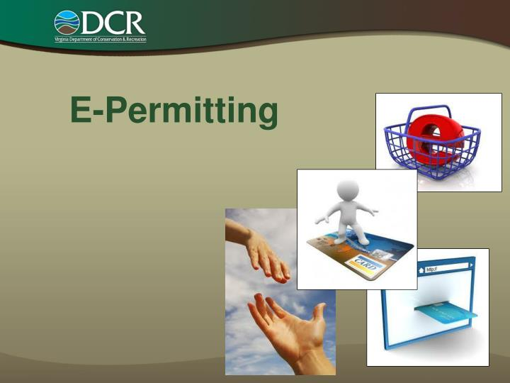 E-Permitting