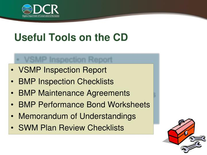 Useful Tools on the CD