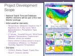 project development scope