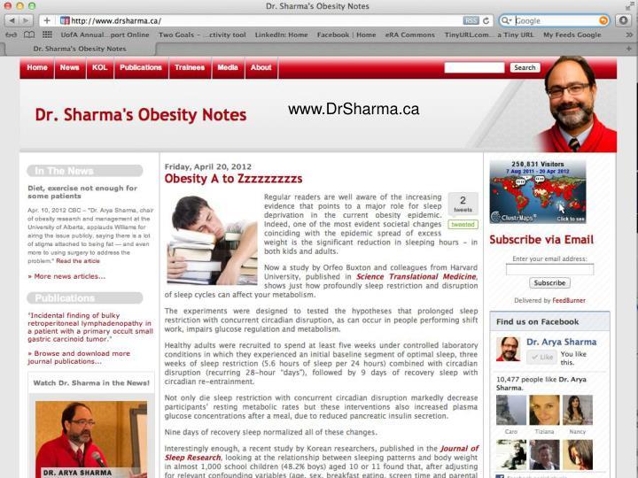 www.DrSharma.ca