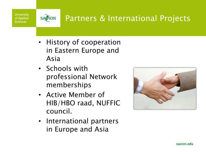 Partners & International