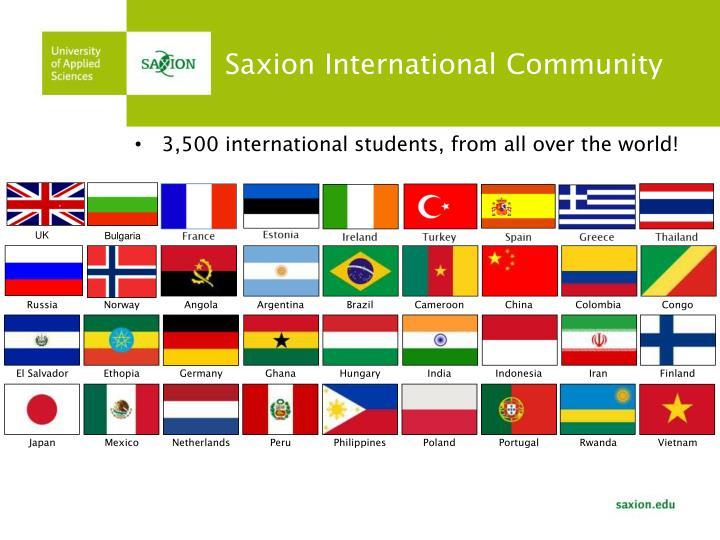 Saxion International Community