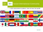 saxion international community