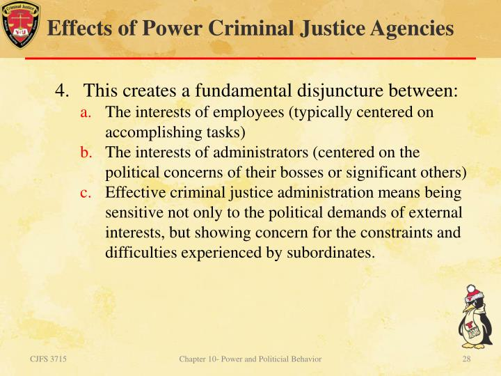 what are the organizational constraints on public criminal justice agencies how do these constraints Implementing organizational change in criminal justice:  procedural or policy change in criminal justice agencies  functions and the associated constraints.