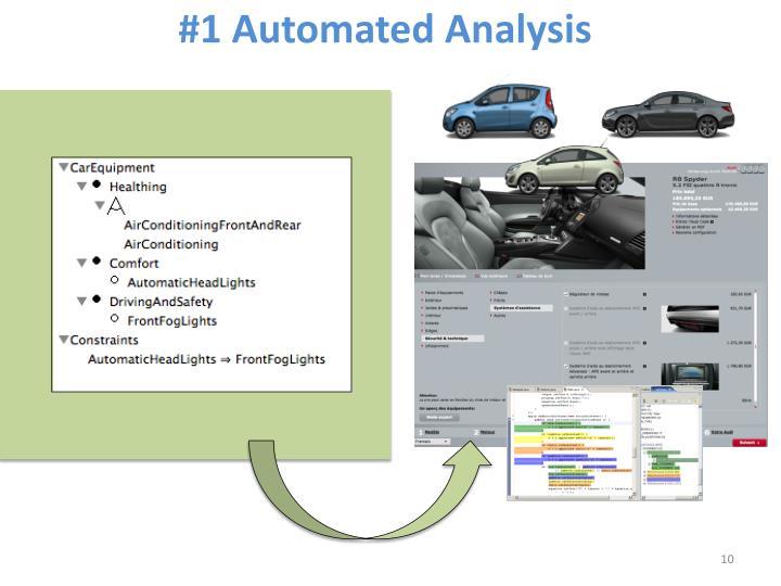 #1 Automated Analysis