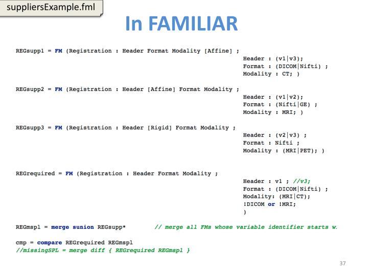 suppliersExample.fml