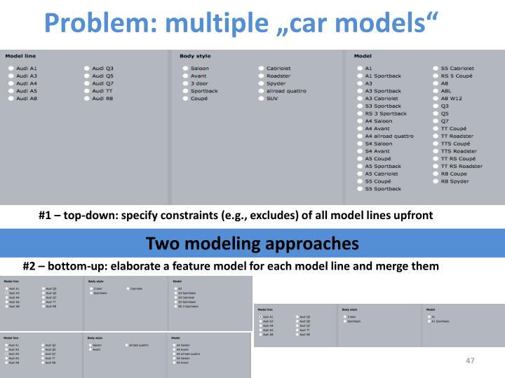 "Problem: multiple """