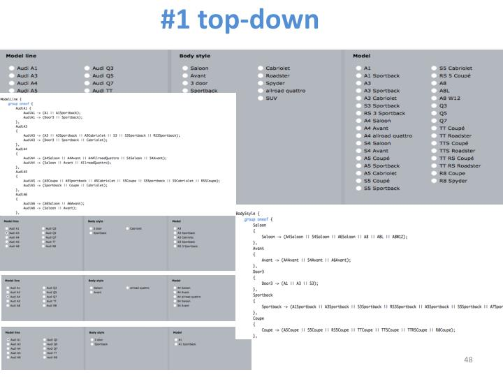 #1 top-down