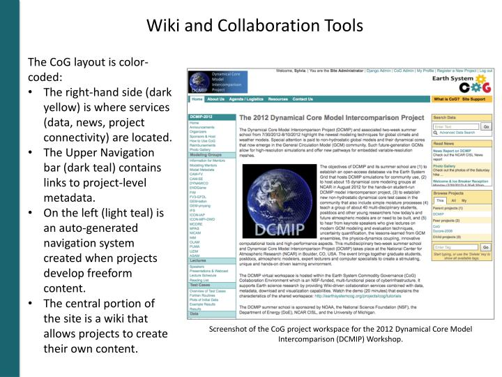 Wiki and Collaboration Tools
