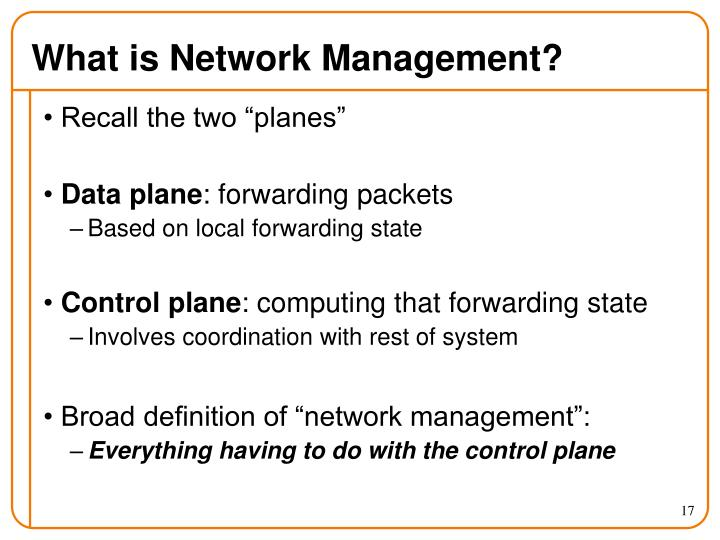What is Network Management?