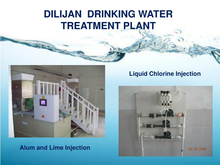 DILIJAN  DRINKING WATER TREATMENT PLANT