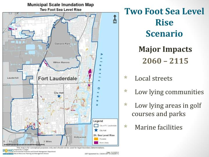 Two Foot Sea Level Rise