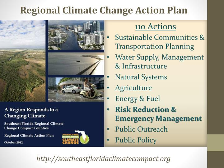 Regional Climate Change Action Plan