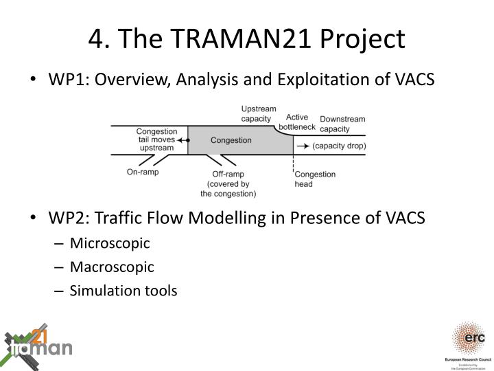 4. The TRAMAN21 Project