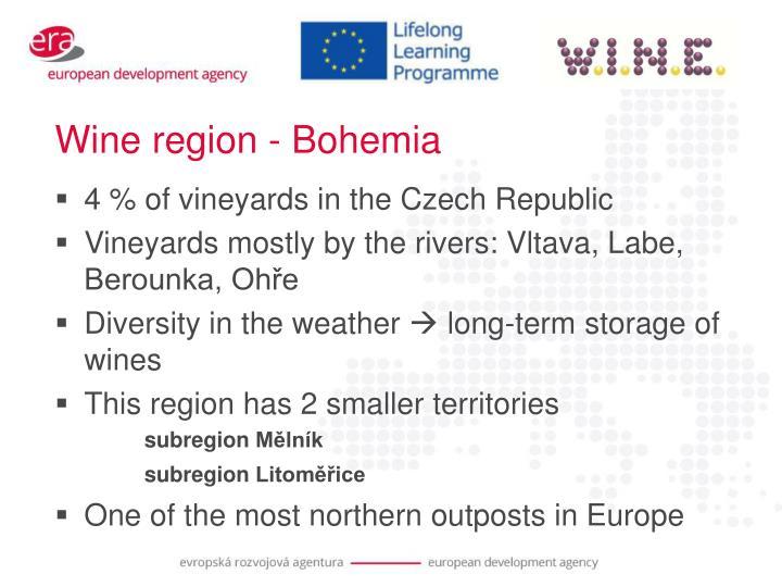 Wine region - Bohemia