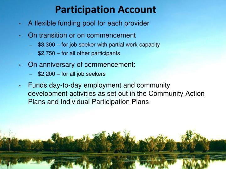 Participation Account